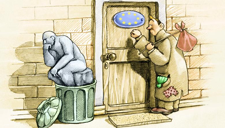 Correo de Europa: La encrucijada